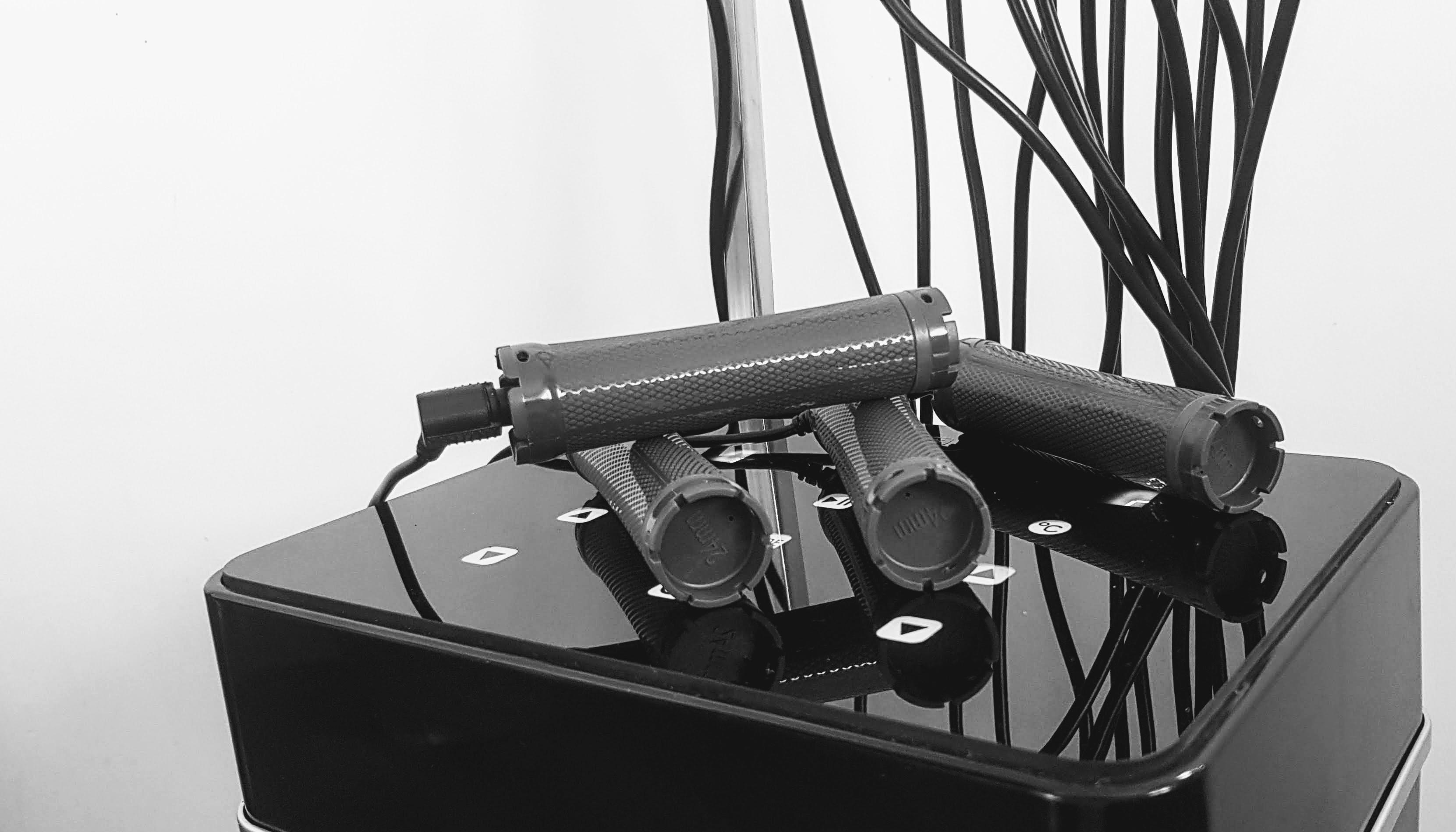 Glanzend Hightech apparaat met rollers voor digital perm