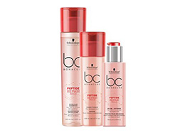 Bonacure hair care products