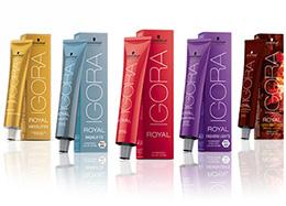 Igora Royal professionele haar kleur producten